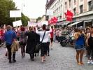 Paraden i paradegaten. (Foto: Nina Didriksen)