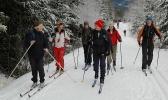 På ski innover mot Dammyra. Foto: Rine G. Carlsen