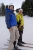 Linda og Anita. Blide damer i bakken! Foto: Jorun Bye