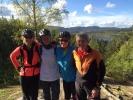 Sykkeldamene: Sussie, Ann Helen, Grete og Hanne (Foto: Hanne Lyssand?)