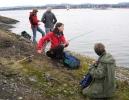 Linda, Kari-Mette, Torunn og Vigdis klare til innsats.