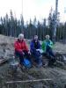Mat må til på tur; Edwige, Helga og Anne Marie