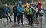 Pause - med regnvær... Foto: Rine G. Carlsen