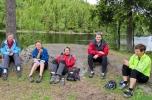 Rast ved Movatn etter en fin-fin tur. (Foto: Jorun Jarp)