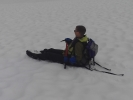 Marianne tar snarveien ned fra Geita (Foto: Kristin Tangvik Magnussen)