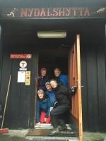 Takk for turen ved noen av dem: Anne Marie og Grete bak, og nedenfra og opp Hann
