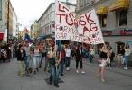 Lesbisk Turlag på bytur. Foto: Siri Osvær