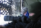 Kanonfotograf på leik... (Foto: Nina Didriksen)
