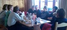 Frokostkos i leilighet B5. Foto: Jorun Bye
