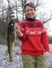 Joruns fine fangst! En flott torsk på 1,5 kilo, på første kast!