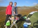 Sussie og Ann Helen - drevne campere (Foto: Vigdis Thoengen)