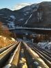 : Rørgate i solnedgang. Kraftverket i Rødberg var en sightseeingtur verdig og bø