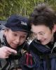 DAGENS DRITTBILDE:Jerpebæsj, avgjorde LT's ornitologiske avdeling! Mona og Rine