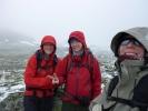 Inger, Nina og Jorun. Snart kommer skiføret! (Foto: Jorun Bye)