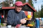 Toril lager felles salat. (Foto: Rine G Carlsen)