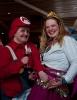 Supermario og prinsessa: vinnerne av kostymeprisen fra sl. Foto: Rine G. Carlsen