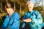 Jorun og Grete i djupsindig samtale(Foto: Rine G. Carlsen)