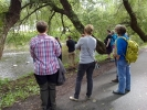 De mer rolige endene i elven fikk vi også med oss. (Foto: Kari Kirkeby)