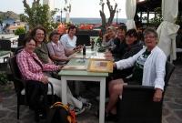 Deltagerne fra venstre: Kari, Inger, Gunilla, Nora, Silje, Jofrid, Heidi og Kers